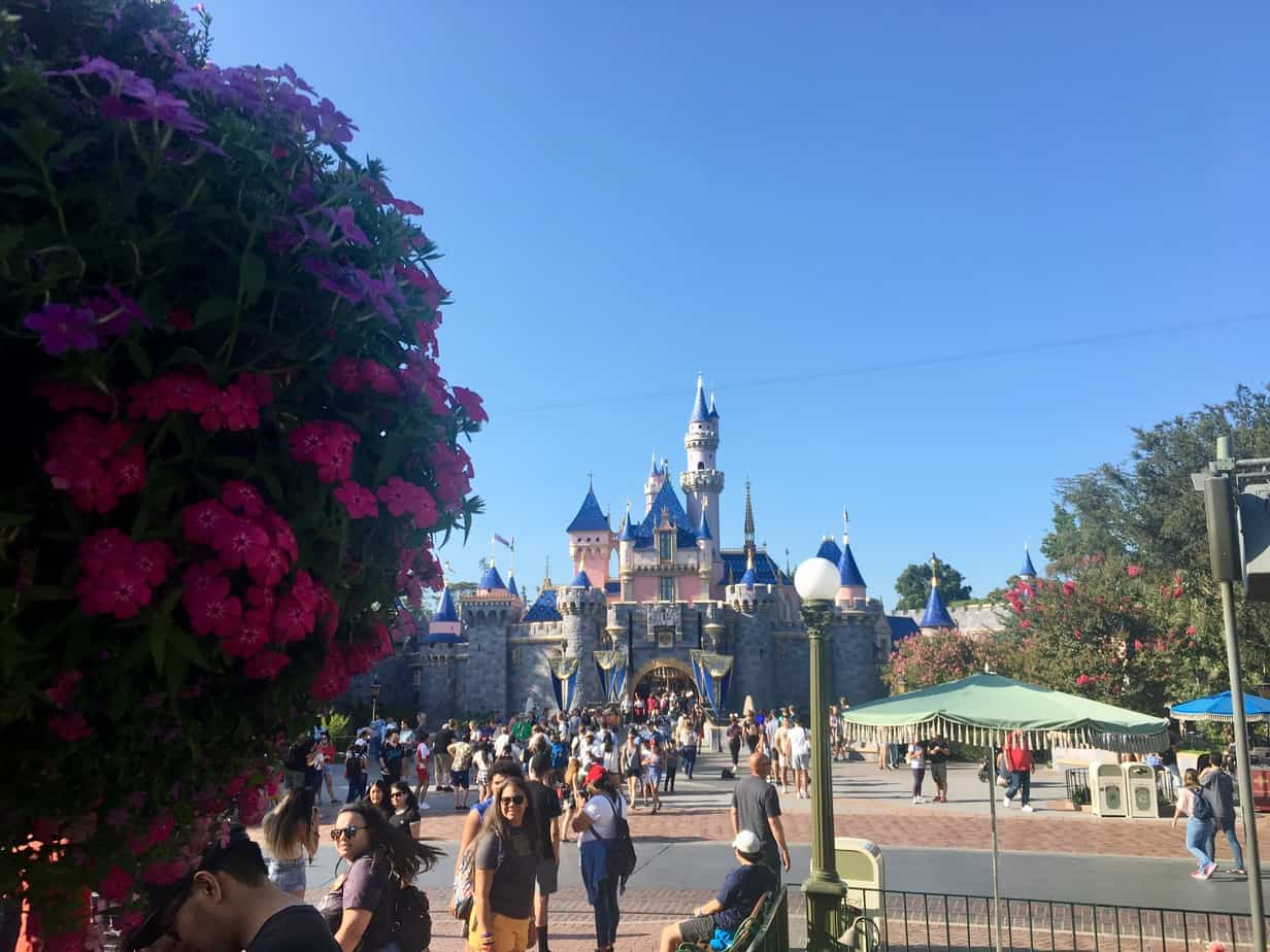 Disneyland rope drop