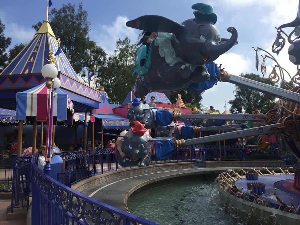 Dumbo the Flying Elephant Disneyland Fantasyland