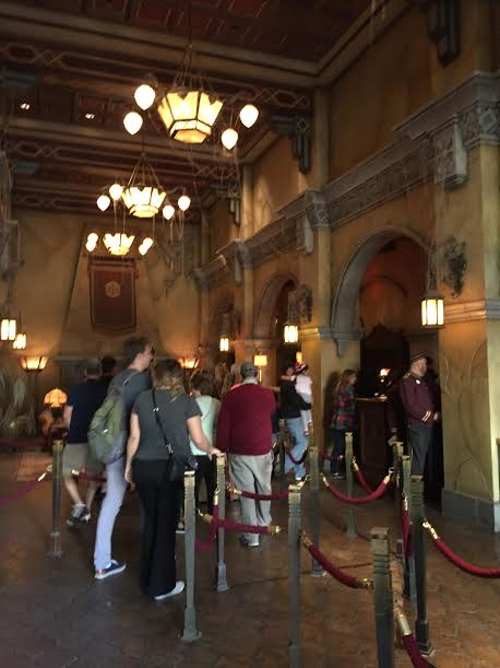 Tower of Terror line