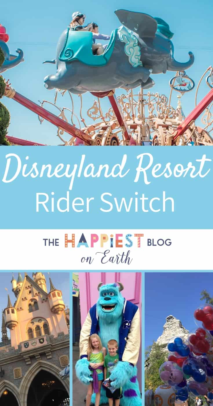Rider Switch Disneyland