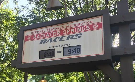 California Adventure FASTPASS