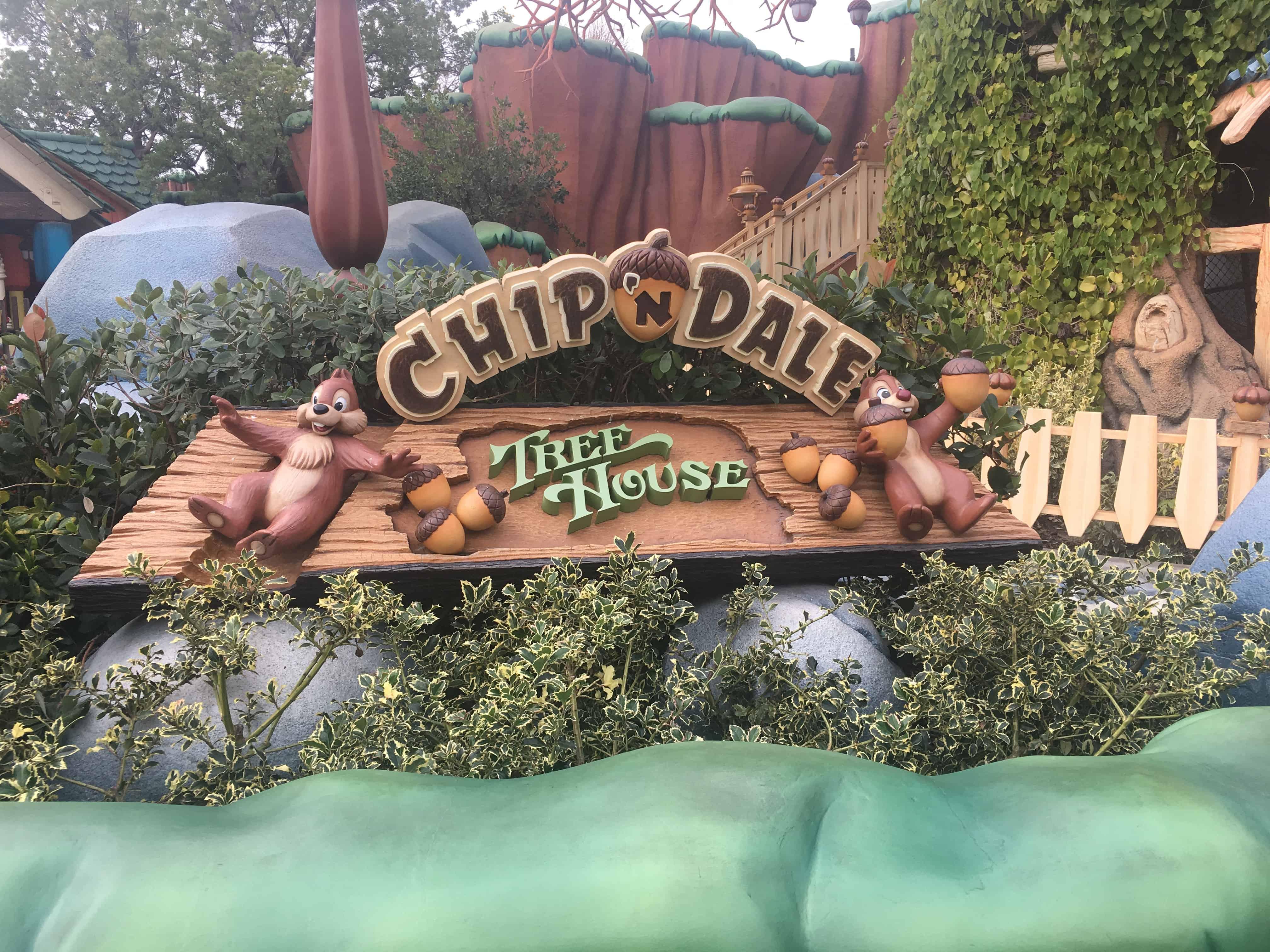 Disneyland play spots