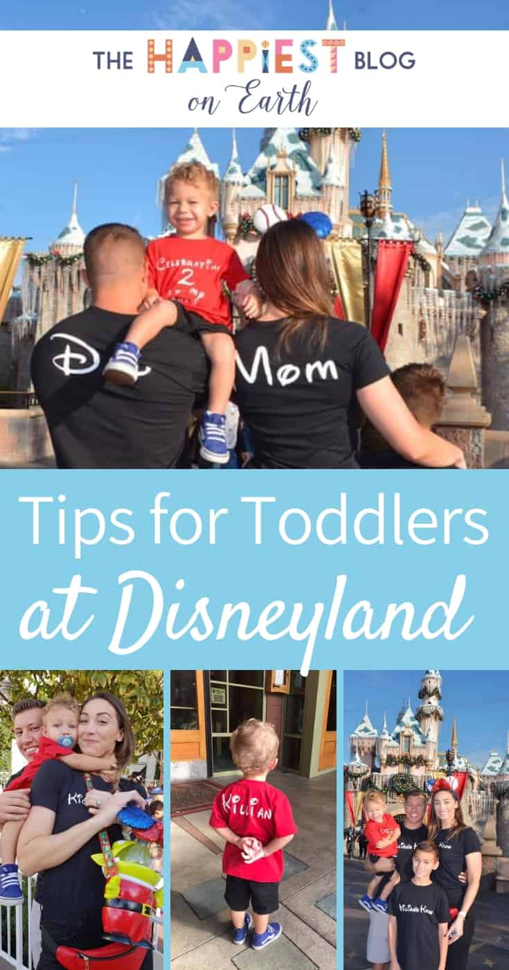 Secret Tips for Toddlers at Disneyland. You can totally do this mama! Our guide breaks it down with stroller tips, a toddler ride list, places to nap and more. #DisneylandToddler #DisneylandPreschool #DisneylandTips #DisneylandVacation