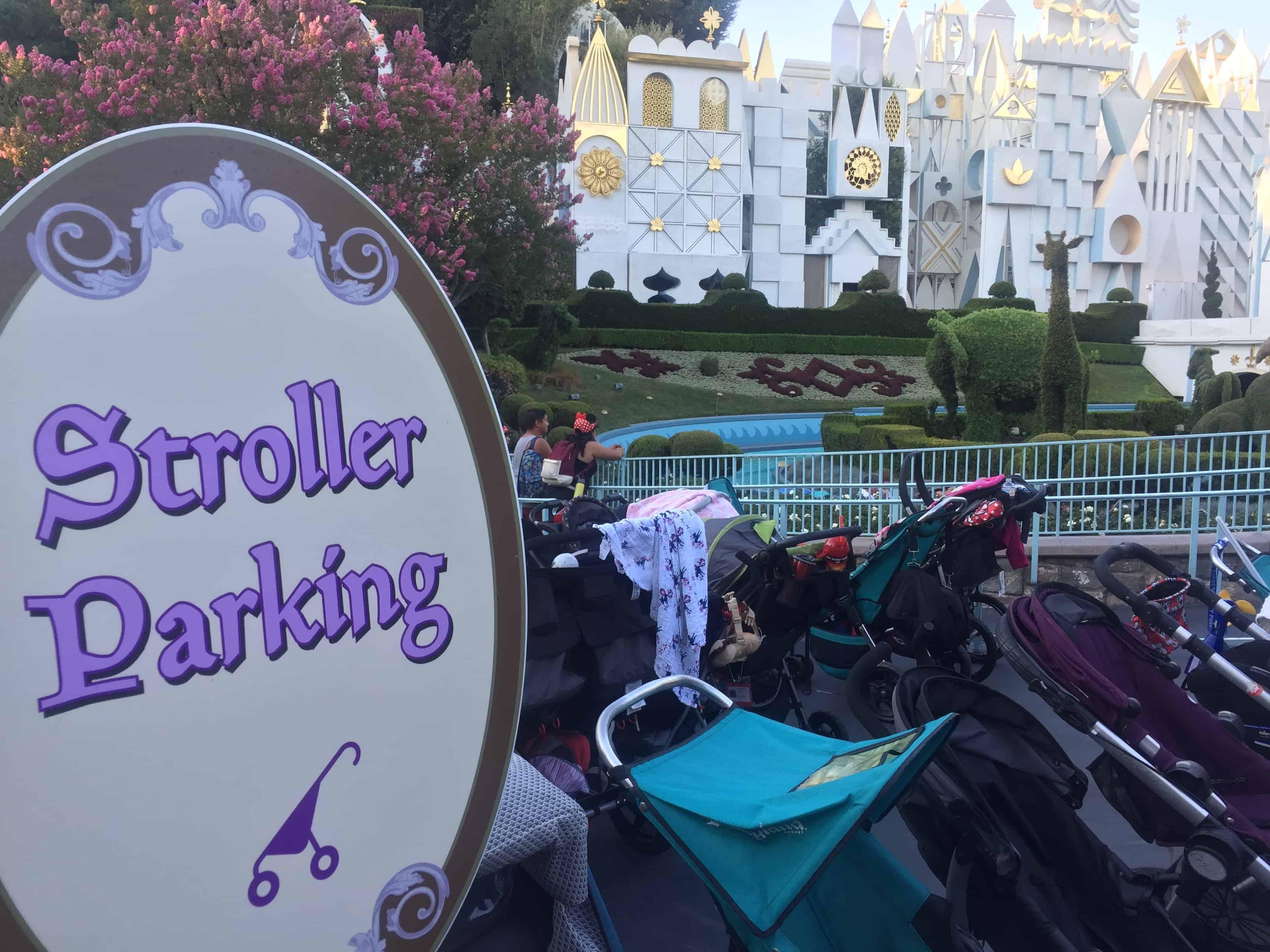 disneyland stroller parking