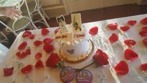 Disneyland Date Night cake photo