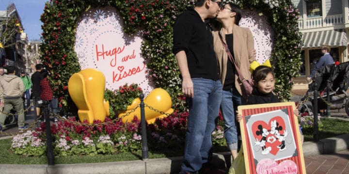 Celebrate a Disneyland Valentine's Day