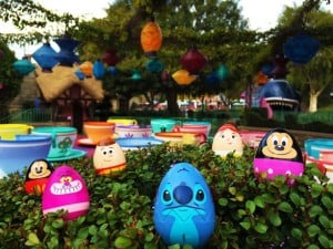 Disneyland in March