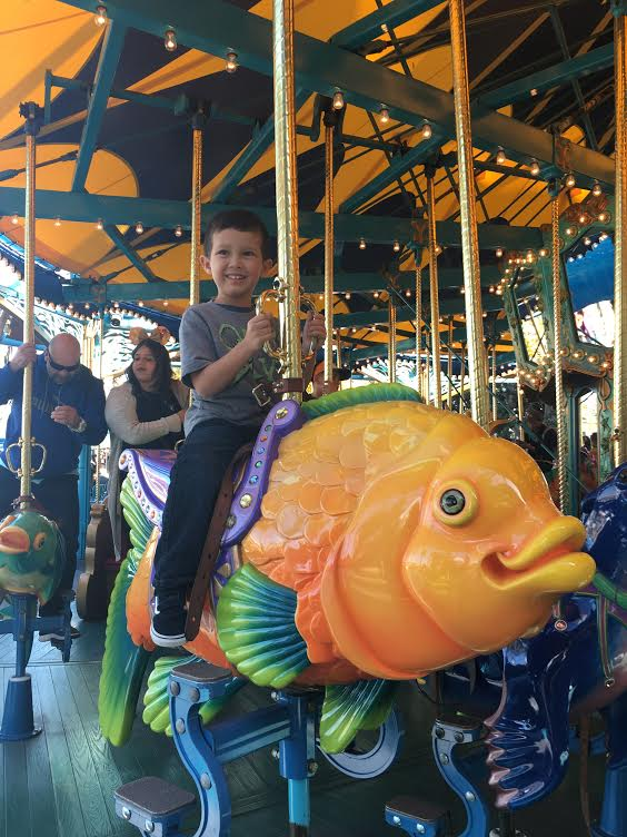 Rider Switch | King Triton Carousel