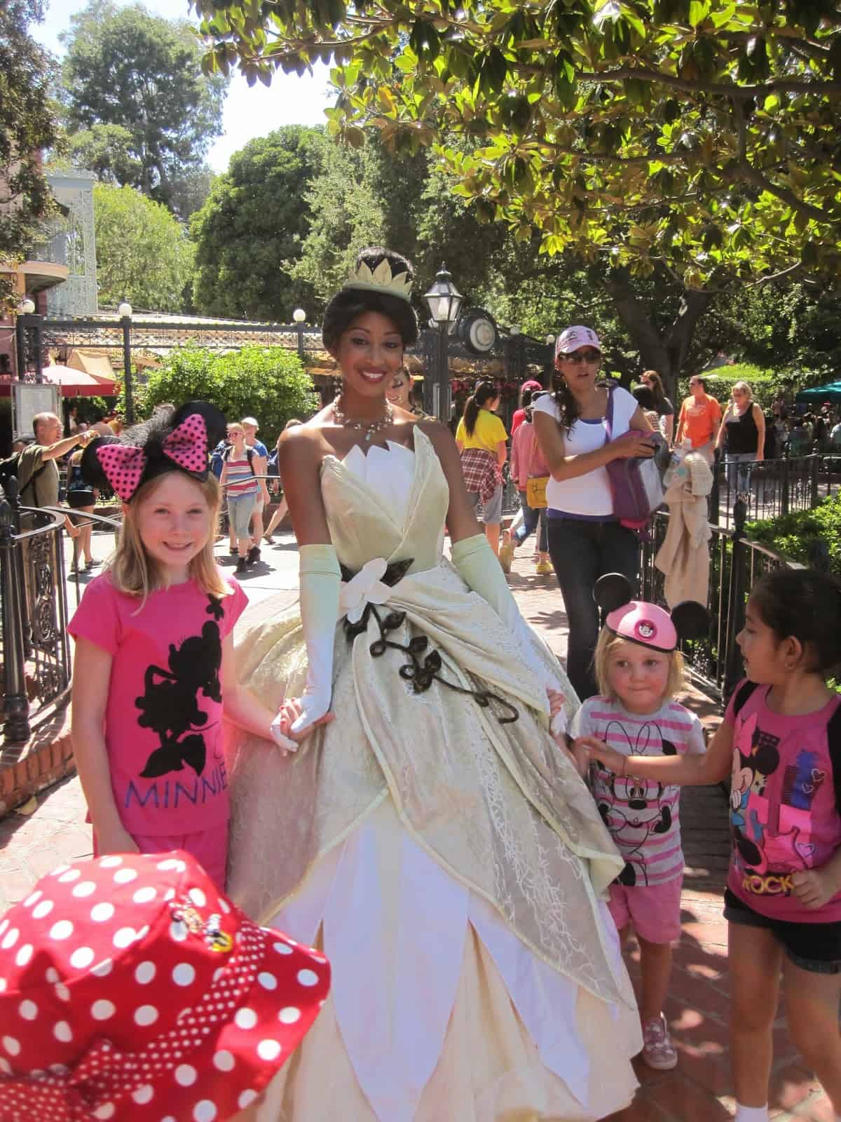 Princess Tiana Disneyland Resort