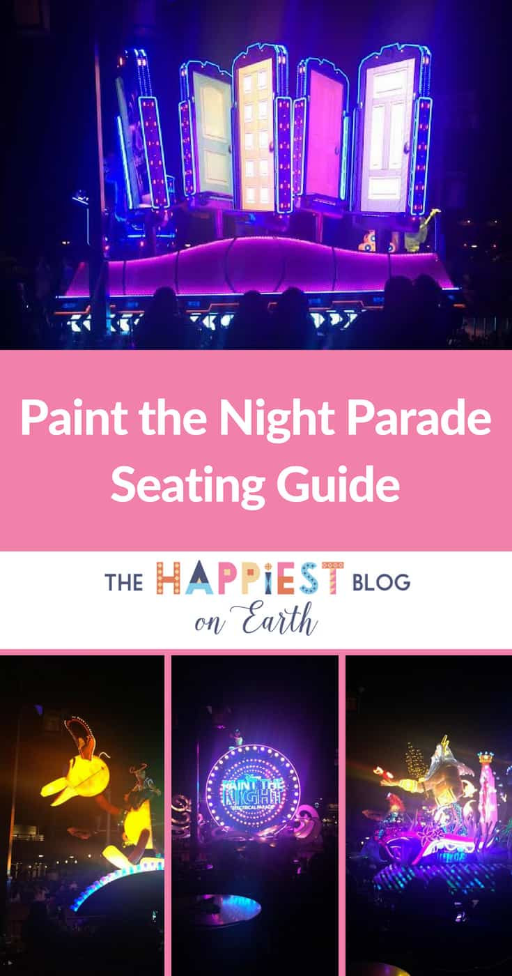 Paint the Night Seating Guide