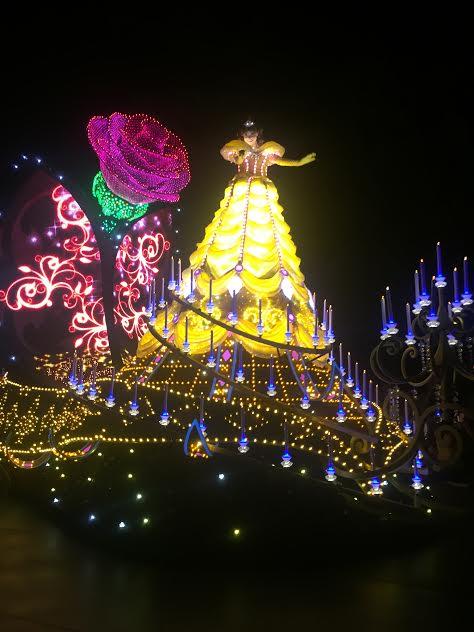 Disneyland's Paint the Night Parade during the Diamond Celebration.