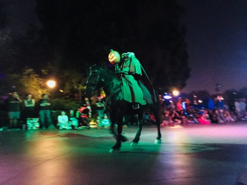 Headless Horseman Disneyland