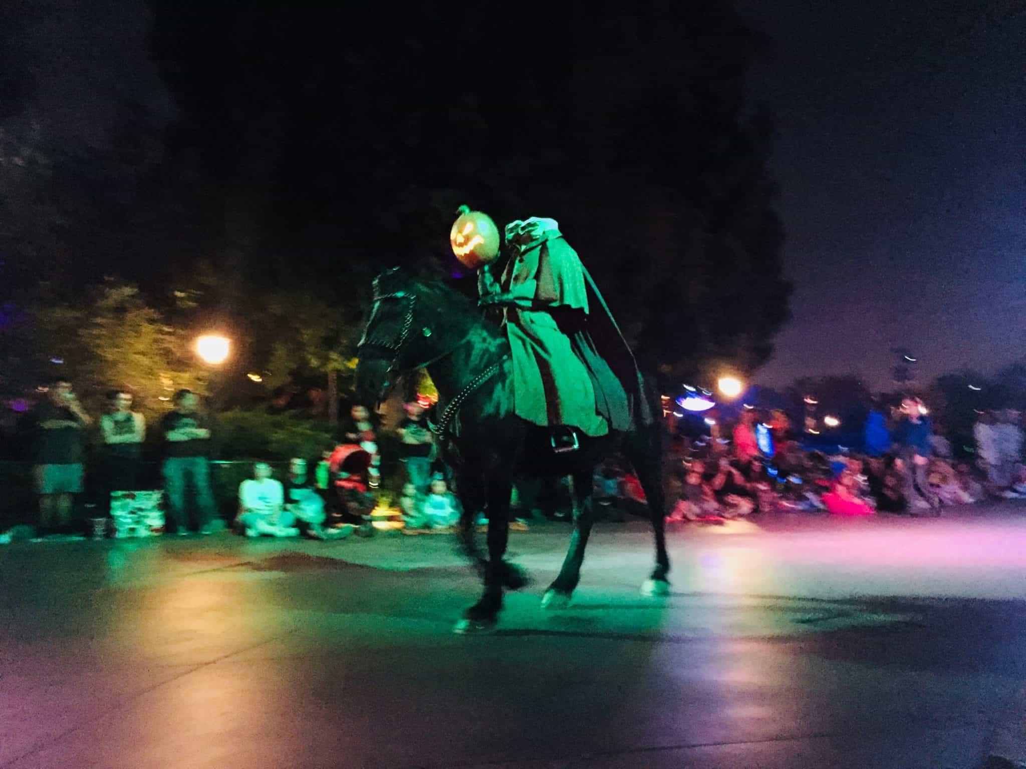 Headless Horseman Disneyland