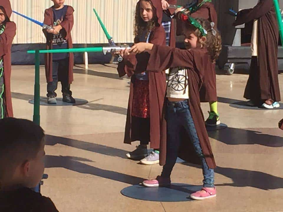 All about Jedi Training, photo credit: Melissa Heyer.