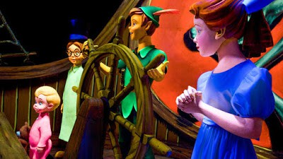 Peter Pan's Flight. Photo credit Disneyland Resort.