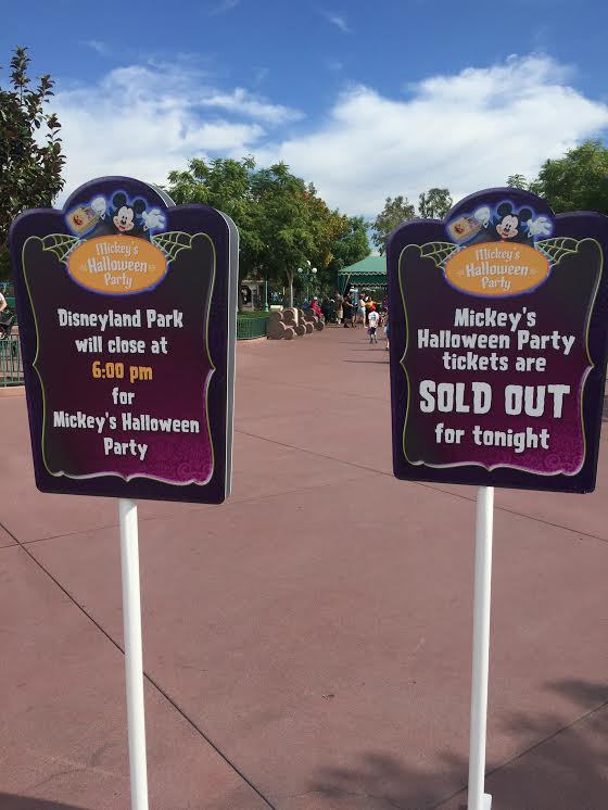 Tickets to Mickey's Halloween Party do sell out, be sure to grab your tickets in advance.