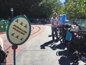 Stroller Parking Disneyland