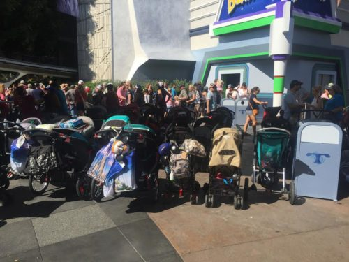 Disneyland strollers
