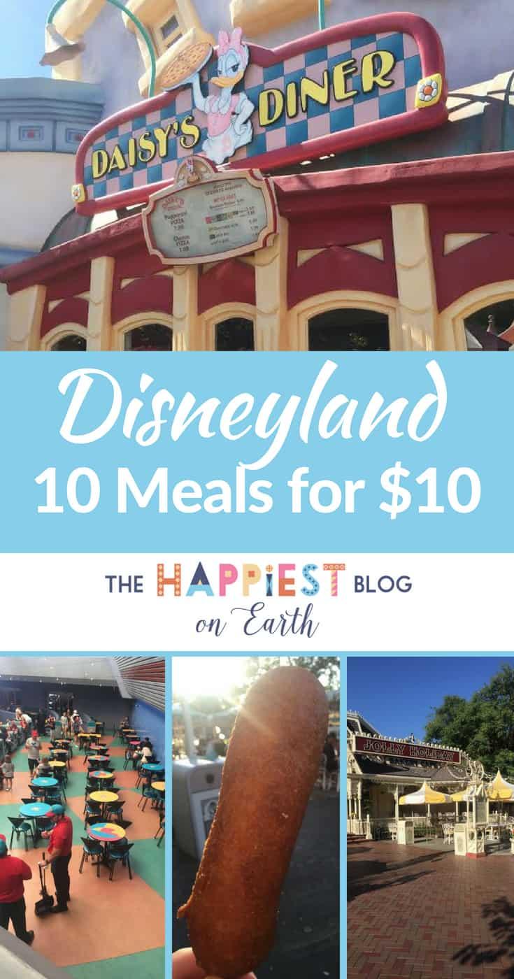 Disneyland Meals for $10