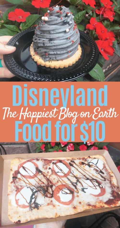 Budget Disneyland food