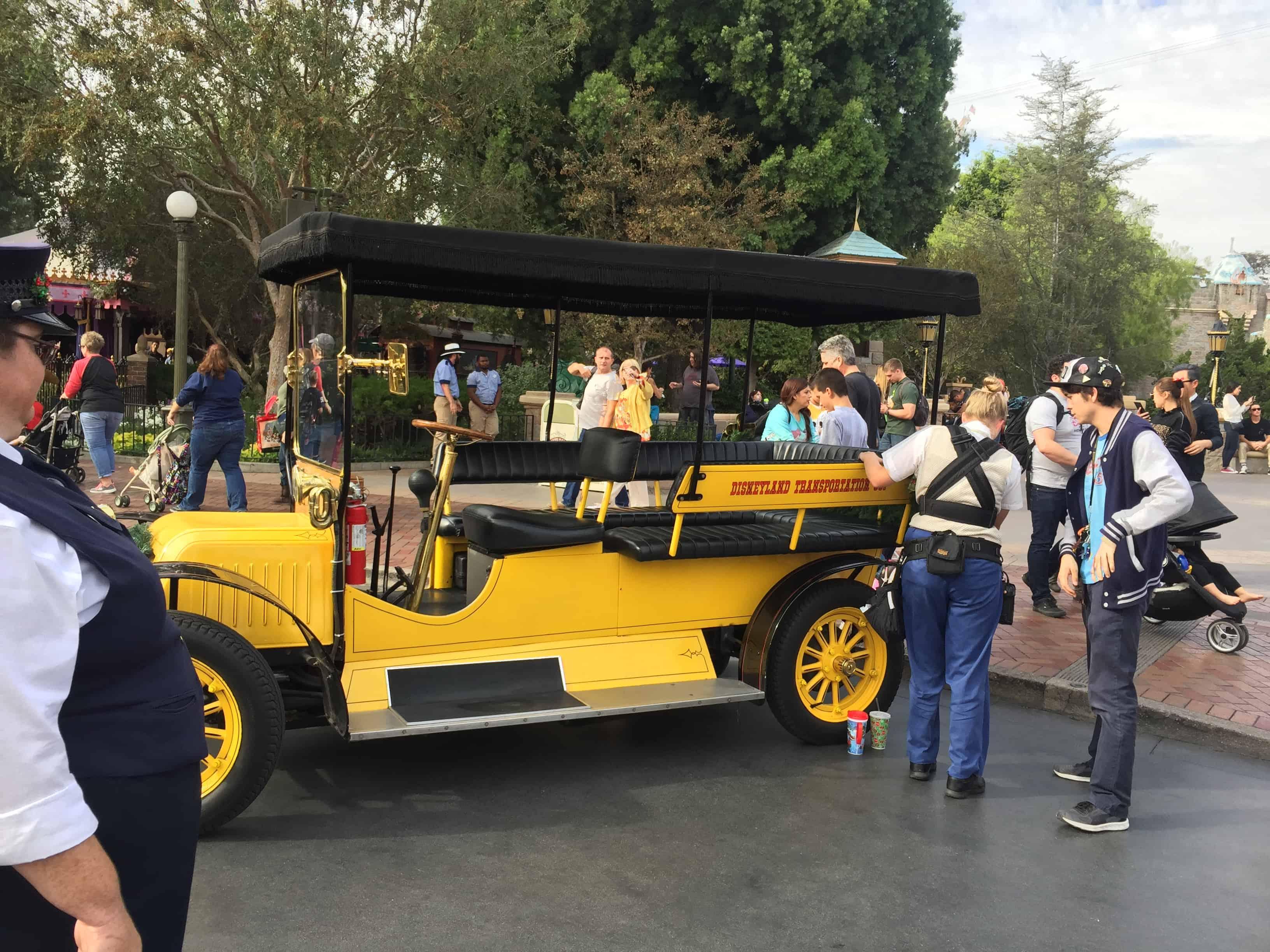 Disneyland Main Street Vehicles