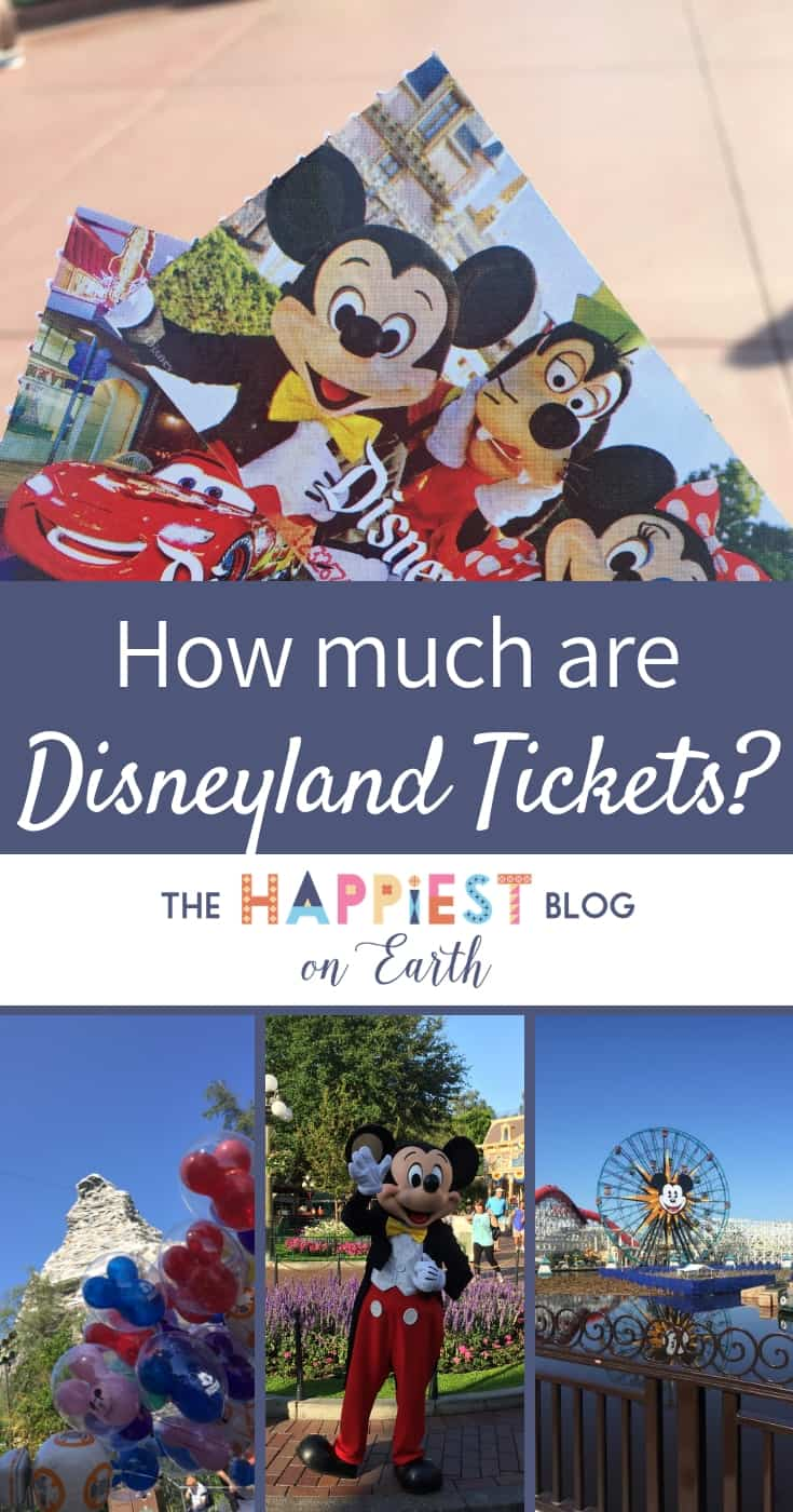 How much does it cost to go to Disneyland? Disneyland ticket calculator and tips for saving the most money when you visit Disneyland Resort. #Disneylandtickets #Disneylandbudget #Disneylandcalculator
