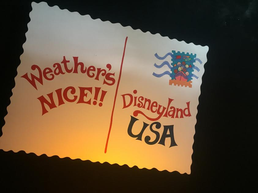 Weather's Nice? El Nino Rain Hits Disneyland.
