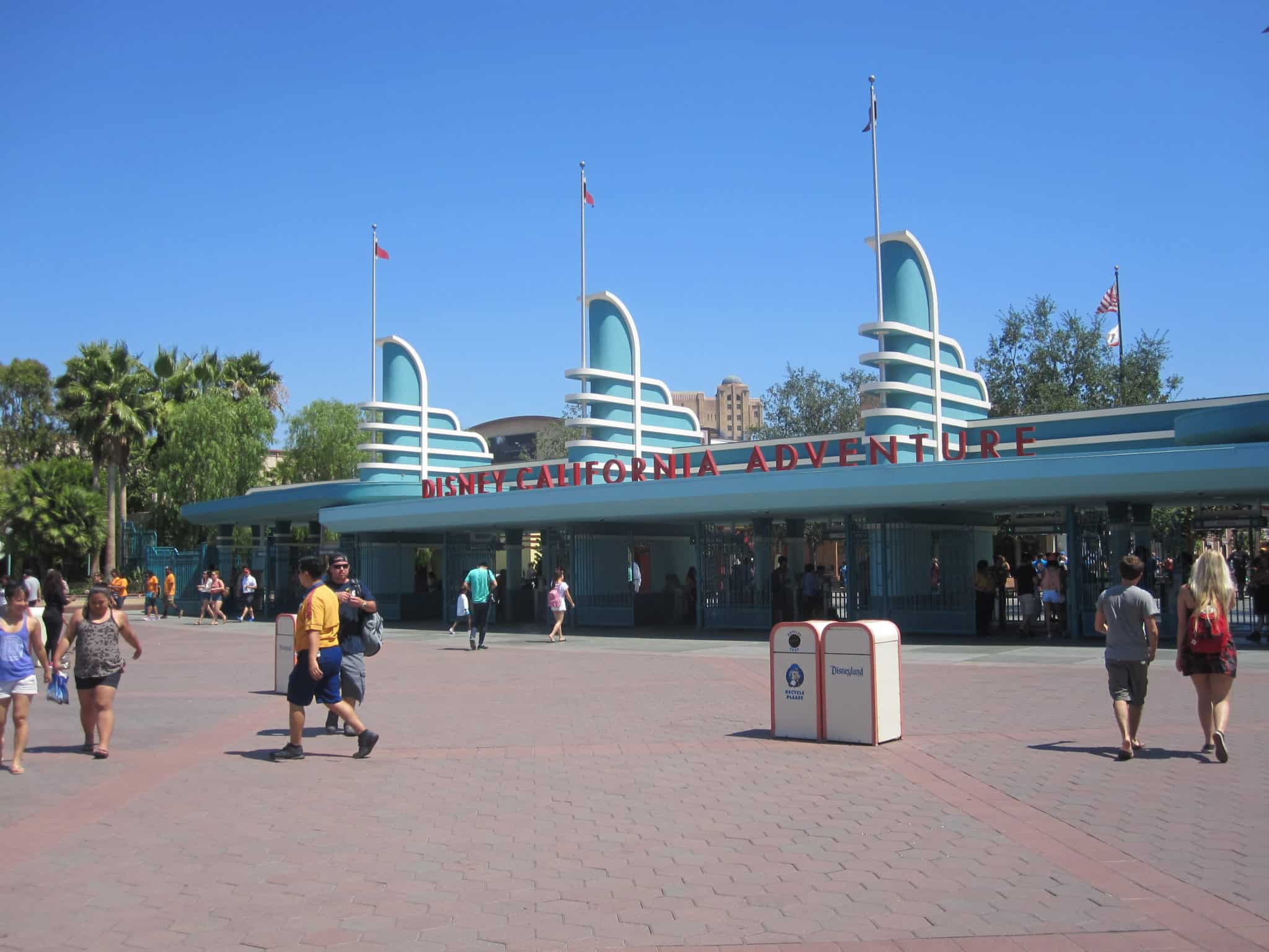 Disney California Adventure gate