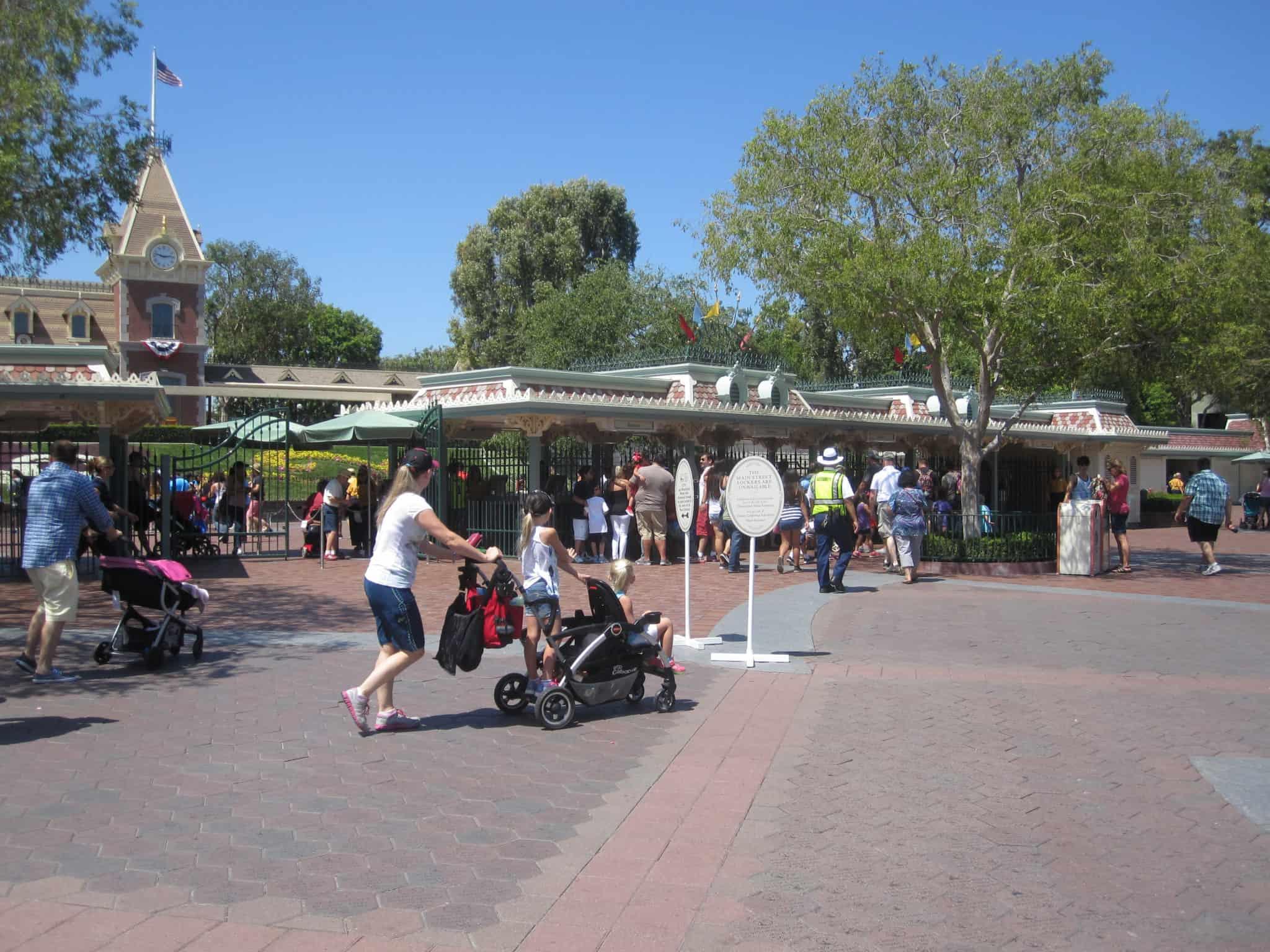 Disneyland gates