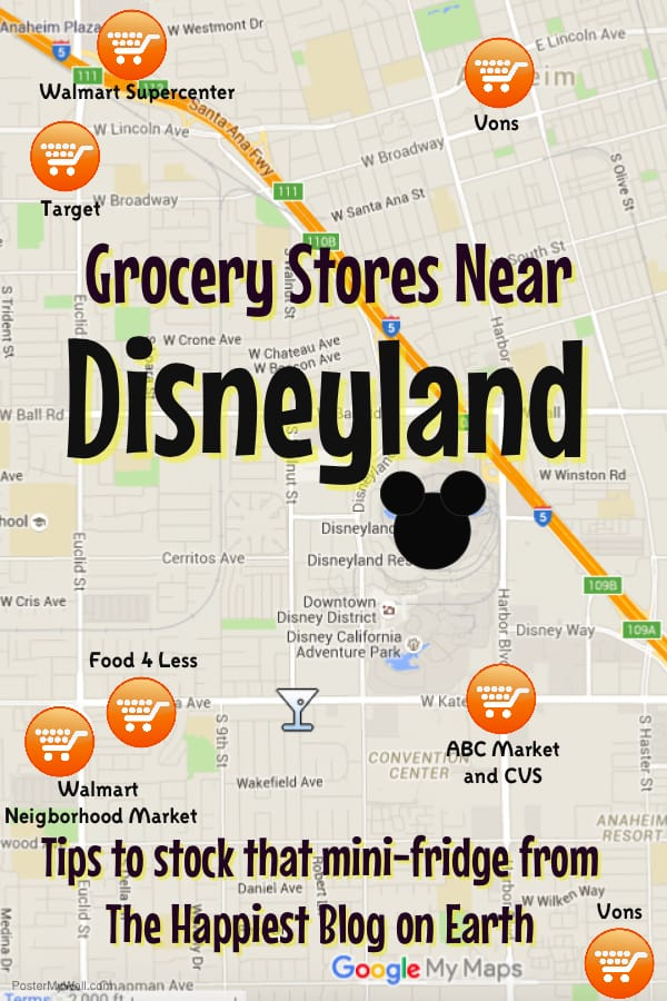 grocery stores near Disneyland