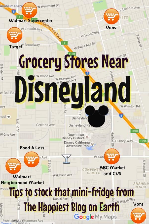 grocery stores near Disneyland