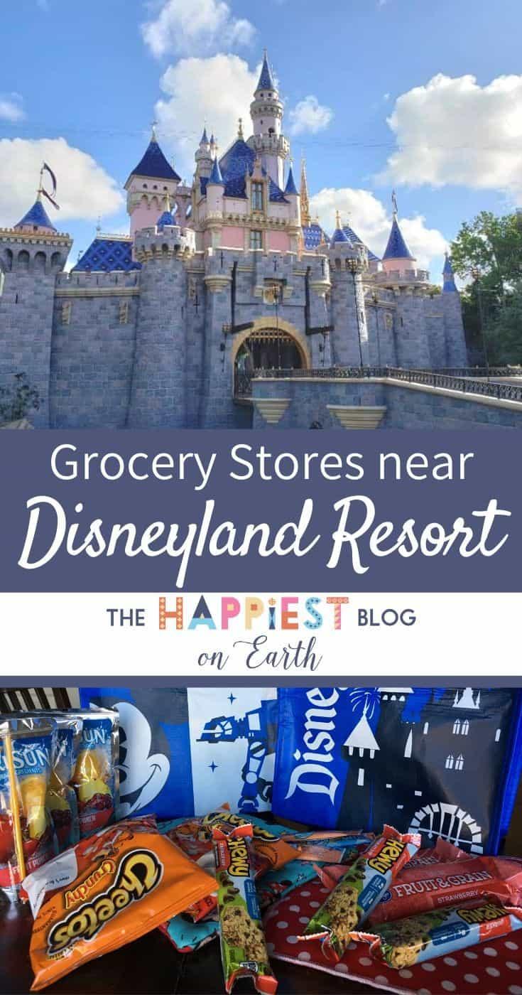 Disneyland Grocery Stores