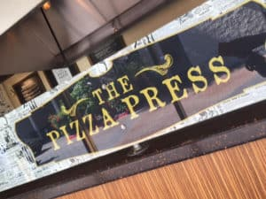 The Pizza Press on Habor Blvd.