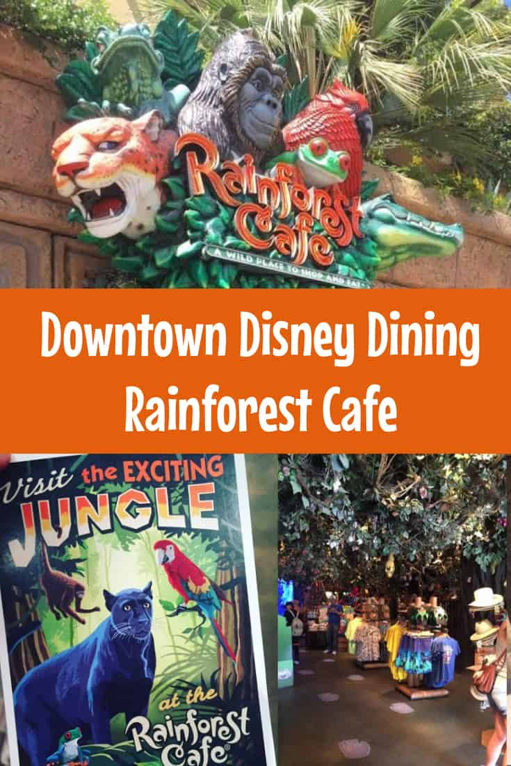 Rainforest Cafe Downtown Disney Prices