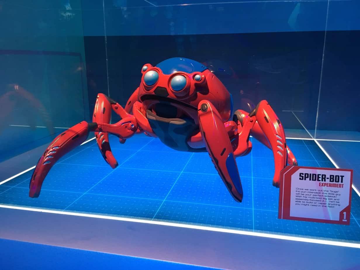 Spider Bot Avengers Campus