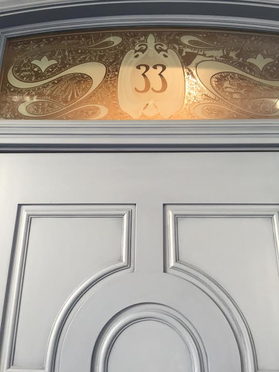 Club 33 doorway