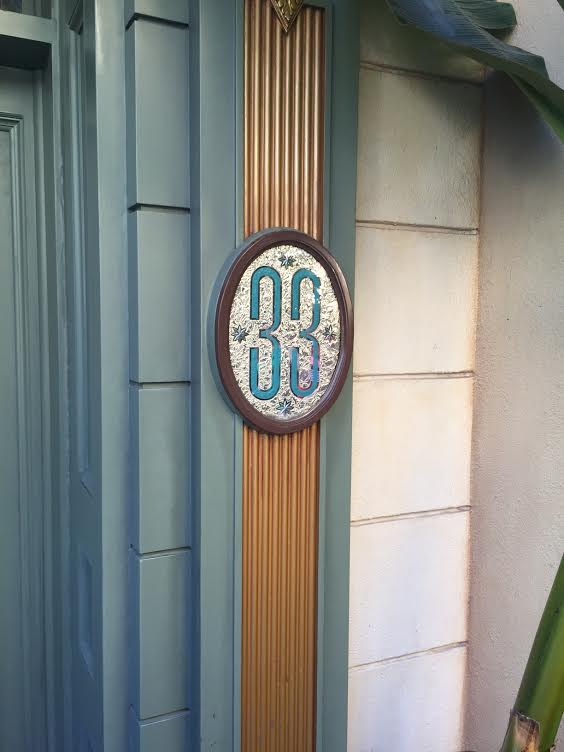 Club 33 Original Door