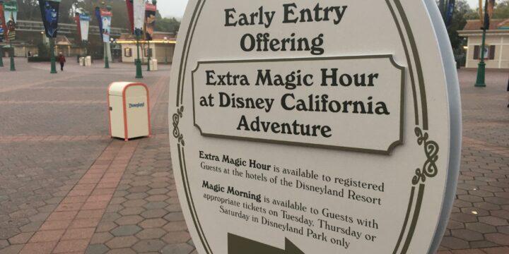 Disneyland Resort Magic Morning