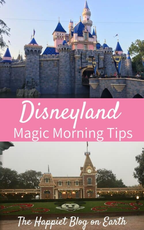 Magic Morning Disneyland
