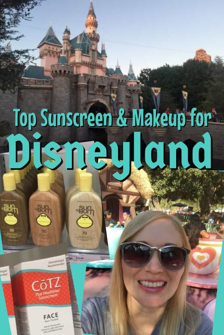 Top Picks for Sunscreen and makeup at Disneyland. Long lasting, not shiny or greasy.