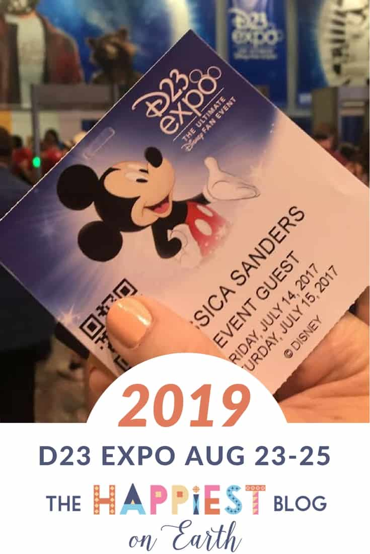 Disney Fan Event D23 Expo Prep 2019 | The Happiest Blog on Earth