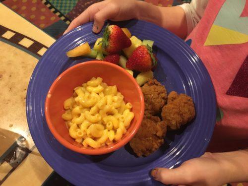 Disneyland Kid meals