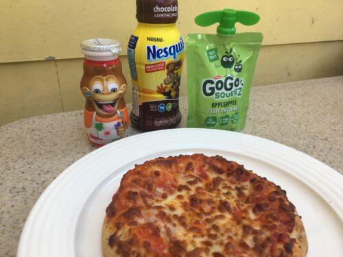 Disneyland pizza kid meal