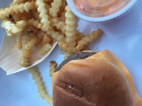 Burgers at Disneyland