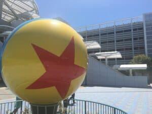 Pixar Pals parking Disneyland