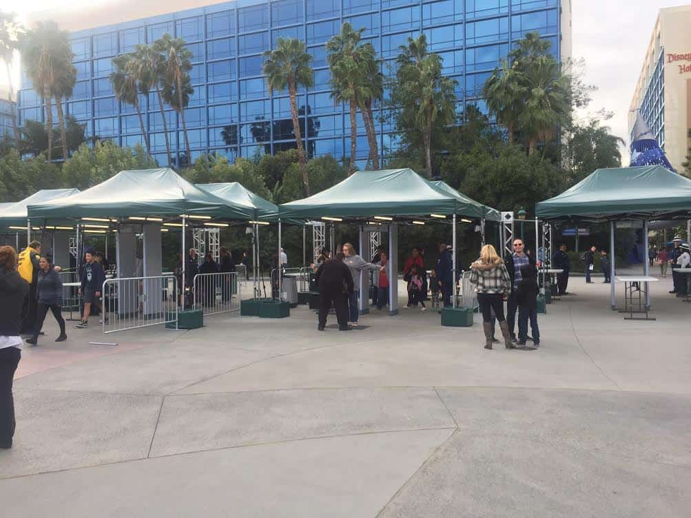 Get through Disneyland Security Fast
