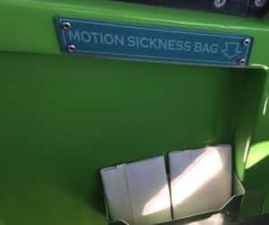 Mickey's Fun Wheel motion sickness bag