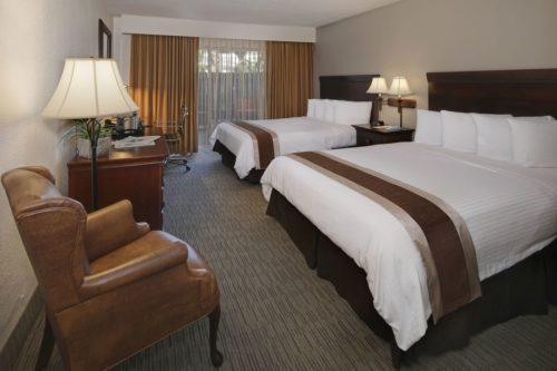 The Anaheim Hotel room