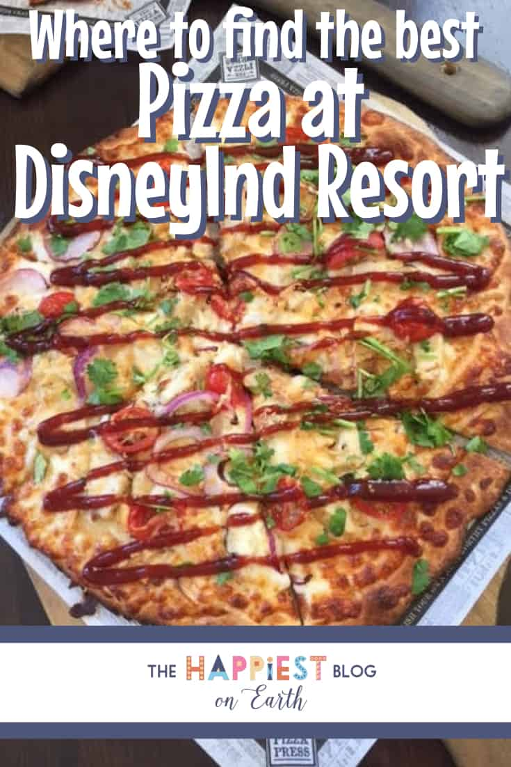 Where to find the best pizza at Disneyland Resort
