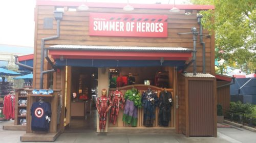 Summer of Heroes California Adventure Park